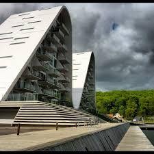 Znalezione obrazy dla zapytania Osiedle Fala w Vejle, Dania, Projekt: Henning Larsen Architects