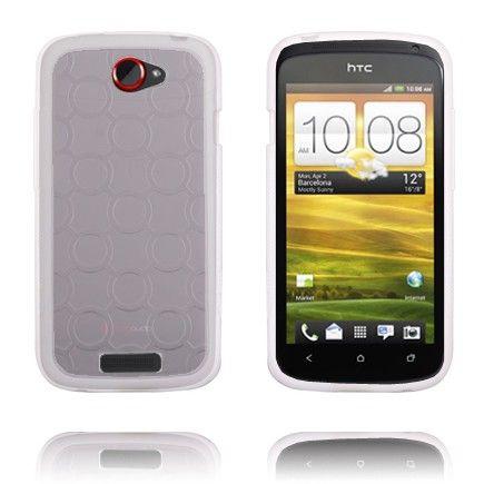 Gjennomsiktig Bakdel (Hvit) HTC One S Deksel