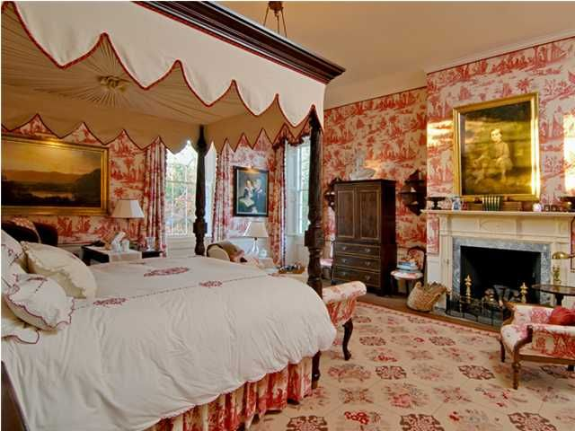 Red Mansion Master Bedrooms 173 best master bedroom -- red + cream, here we go! images on