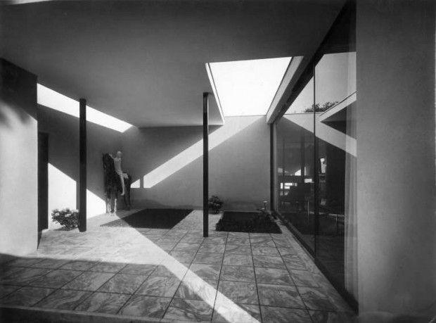 villa-studio per un artista - milano - luigi figini e gino pollini - 1933
