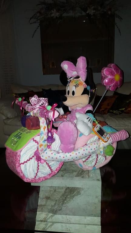 Looking for other project inspiration? Check out MINNIE MOUSE TRICYCLE DIAPER CAKE by member Anna Douglas.