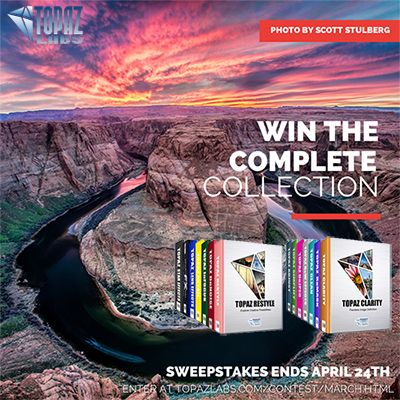 Win the Topaz Complete Photography Collection