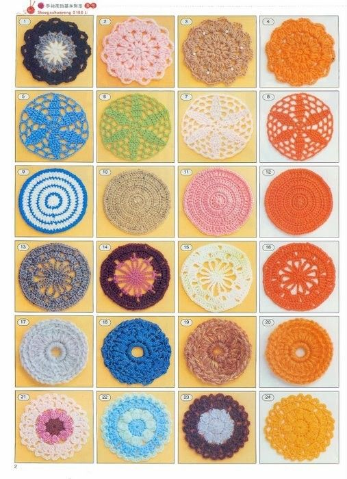 more crochet patterns...