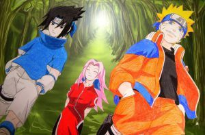Team 7 in the Forest by AquaticOcean