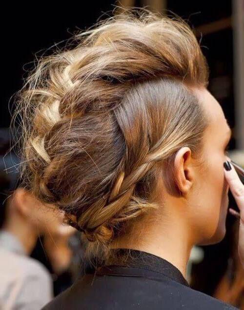 El peinado mohicano para mujeres y hombres   Los Peinados