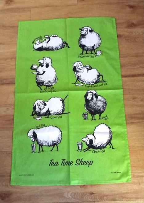 Cute+NZ+Tea+Drinking+Sheep+Tea+Towel  http://www.shopenzed.com/cute-nz-tea-drinking-sheep-tea-towel-xidp1358531.html