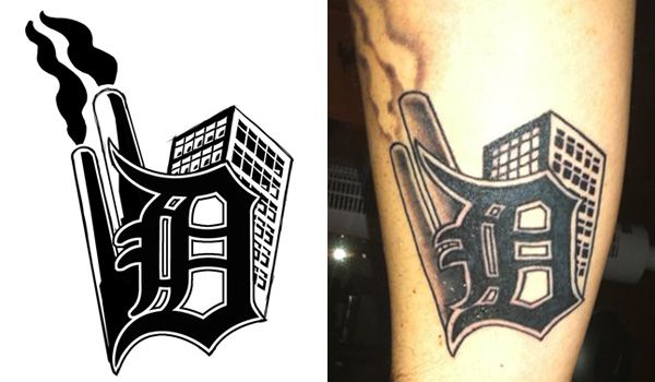 17 best ideas about detroit tattoo on pinterest for Detroit d tattoo