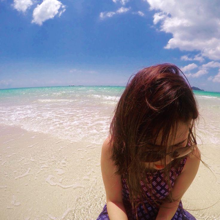 Sand Island, Belitung, Indonesia