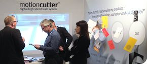 """The official sales launch of the motioncutter® took place on the second EMEA conference for HP-Indigo users DSCOOP in Rome, Italy. From the 6th till 9th of November the motioncutter® team presented it's applications to a knowledgeable audience. With a level of interest that far exceeded even our own expectations, the motioncutter® stand was literally flooded with potential buyers from all over Europe and beyond. The organizers slogan for the event was """"Print Grand Prix"""" but it soon became a…"""