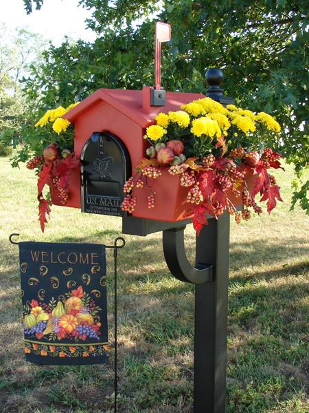mailbox planter ideas