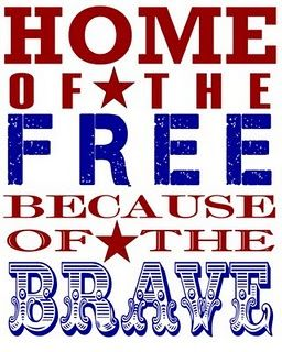 Great patriotic printable.: Holiday, Free, Quote, 4Th Of July, July 4Th, Red White, Usa