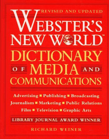 "Happy Birthday to late Richard Weiner, author, ""Webster's New World Dictionary of Media and Communications! 1996 INTERVIEW  RICHARD WEINER interview excerpt: ""Variety, almost from the beginning, prided itself on inventing words that were colorful contractions. Their best-known is 'dee jay,' a word Variety created for 'disc jockey. 'B.O.' for 'box office,' or 'boffo,' these are all Variety words.""…"