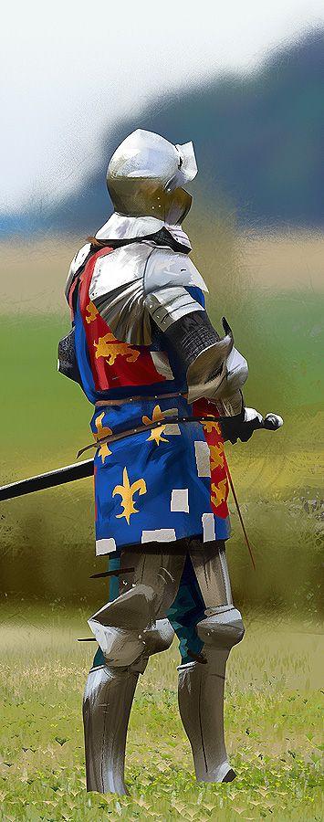 A knight study by Voß.