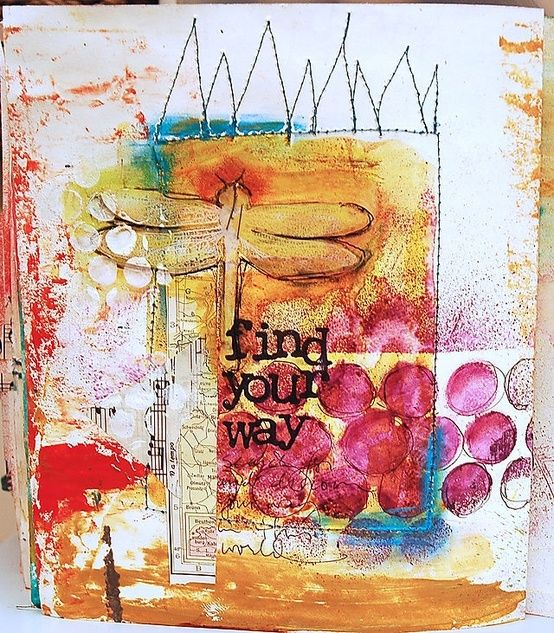 . #journal art journal #art by eileen