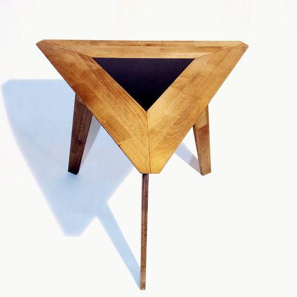 Elegancki drewniany stolik kawowy Asana - komodoredesign - Stoliki kawowe