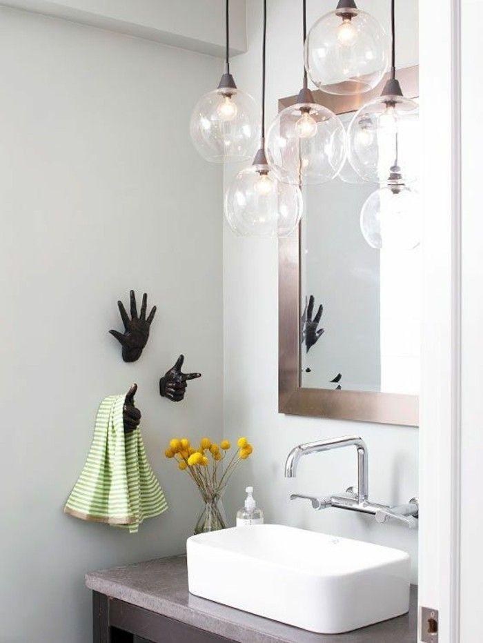 mobalpa salle de bain, aménagement salle de bain blanche avec meubles modernes