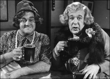 Les Dawson and Roy Barraclough -Cissy and Ada!