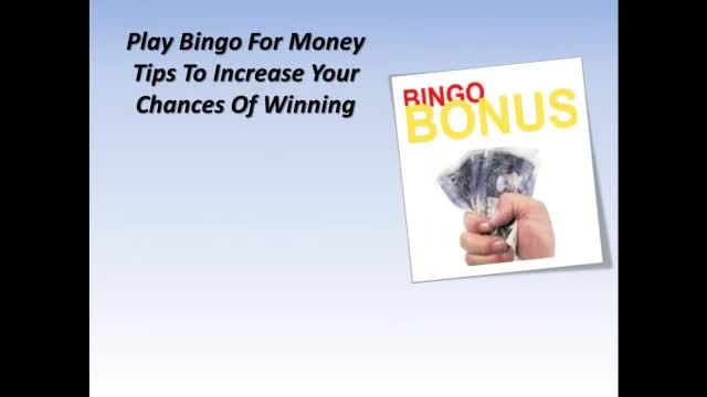 Bingo is practically an amusement match. You could play bingo for enjoyable online. There are many bingo web sites now which enable you to play online bingo match. With on the internet there you are you will be able to appreciate the very same pleasure and pleasure as in case of actual casino site bingo. Online casinos know that there's an increasing passion in playing on the internet there you are for money and promotion larger and bigger pots.