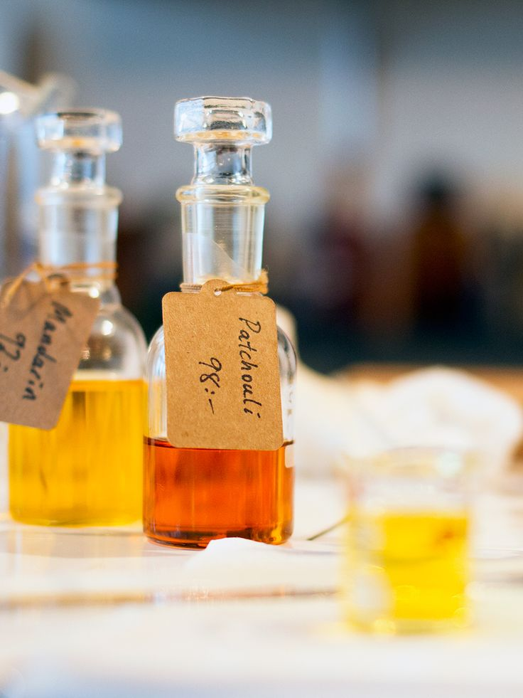 Create your own organic perfume with essential oil blend recipes