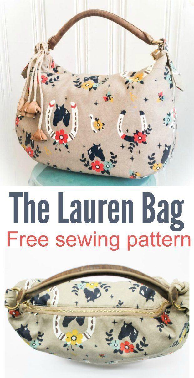 Lauren purse pattern - free | Puntos de bordado | Costura, Croché y ...