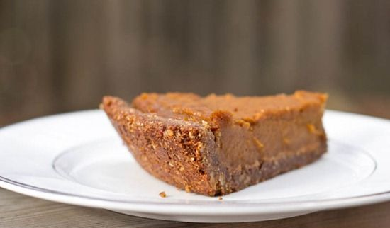 ... gluten-free) - Seriously. This is an amazing crust for pumpkin pie