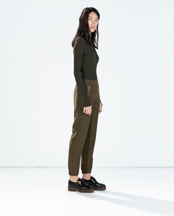 ZARA - WOMAN - COMBINED TROUSERS