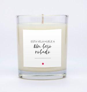 Regalo DIY - Etiquetas de velas descargables gratuitas.  The Optimsitic Side