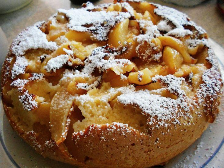 Gestürzter Apfelkuchen aus dem Multikocher