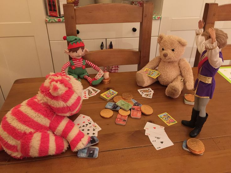 A game of Elf poker and Prince Charming sweeps the board!