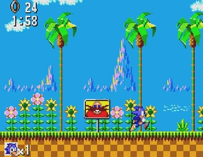 sonic game 2d
