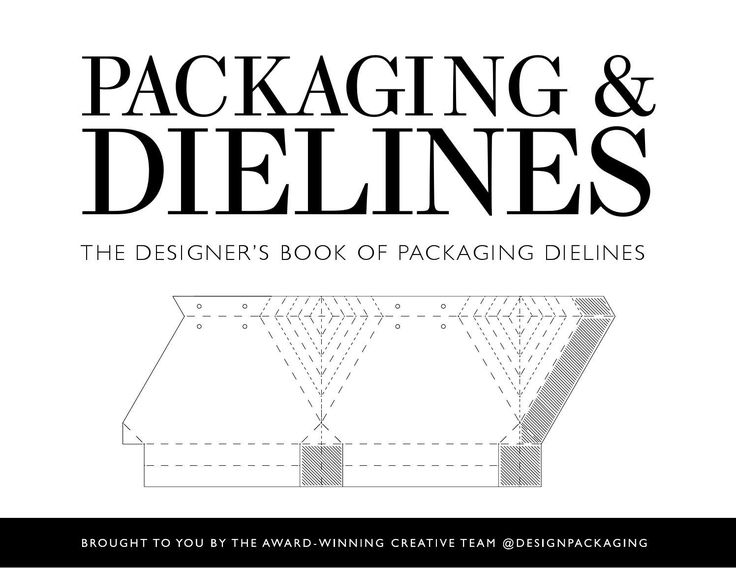 PACKAGING & DIELINES: The Designer's Book of Packaging Dielines by Design Packaging Inc - issuu  This is the ultimate guide to packaging outline/layouts