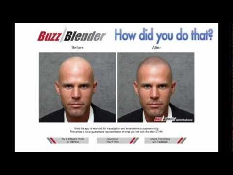 Balding Cure - preview how Good Look Ink's hair loss solution would look on you using Buzz Blender - http://hairregrowthnews.com/balding-cure-preview-how-good-look-inks-hair-loss-solution-would-look-on-you-using-buzz-blender/