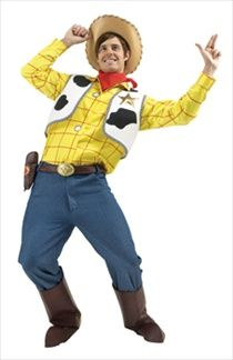 Woody from Toy Story costume, available at Court Jester Fancy Dress costume shop.