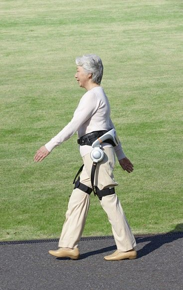 Honda will test its Stride Management Assist on people with limited walking ability at the...