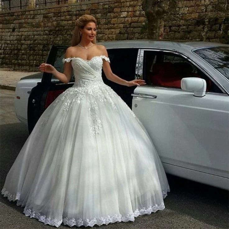 Find a Sweetheart Ball Gown Wedding Dress Beautiful Beaded Lace Wedding Dresses Pretty Bridal Dresses White Wedding Gowns  Online Shop For U !