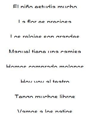 Frases partidas