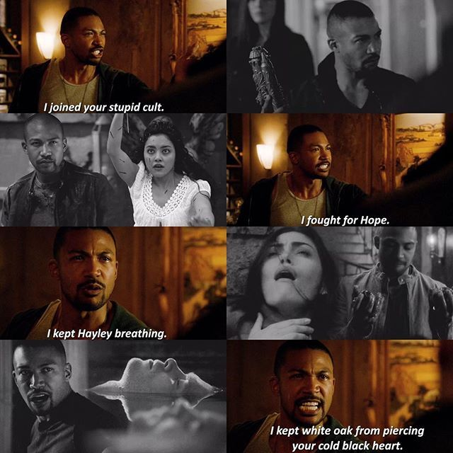 """#TheOriginals 3x20 """"Where Nothing Stays Buried"""" - Marcel"""