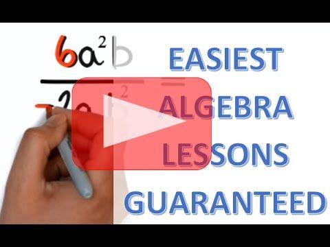 Basic Algebra Lessons for Beginners -- Get the FREE Full Course @ UltimateAlgebra.com - YouTube
