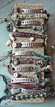 metal stamped jewelry ideas