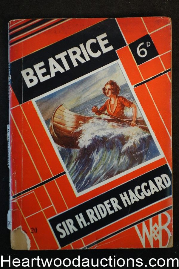 Beatrice by Sir H. Rider Haggard (SOFTCOVER):