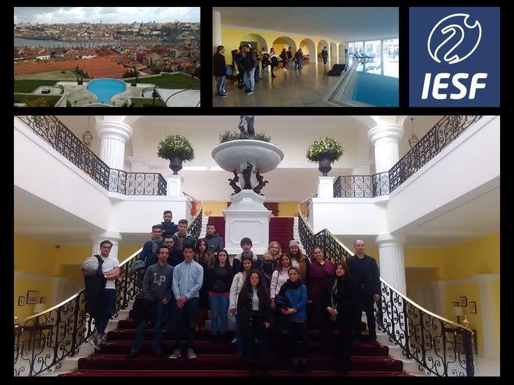 Janeiro 2016 @ The Yeatman. No acompanhamento de visita de estudo ao Hotel InterContinental Porto, com um grupo de alunos de dois cursos do Instituto de Estudos Superiores de Fafe (Turismo e Gestão Hoteleira e Alojamento). Iniciativa do IESFafe (www.iesfafe.pt) que contribui para uma aproximação dos futuros profissionais ao mercado de trabalho. Enquanto docente, é naturalmente satisfatório participar e ajudar neste tipo de processos.