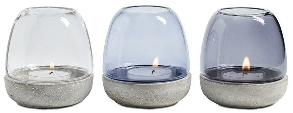 Modern home decor accessories - tealight holders from BoConcept