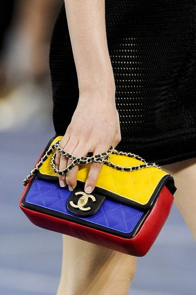Chanel Spring 2013-totally reminds me of Liz Claiborne 80's, like totally
