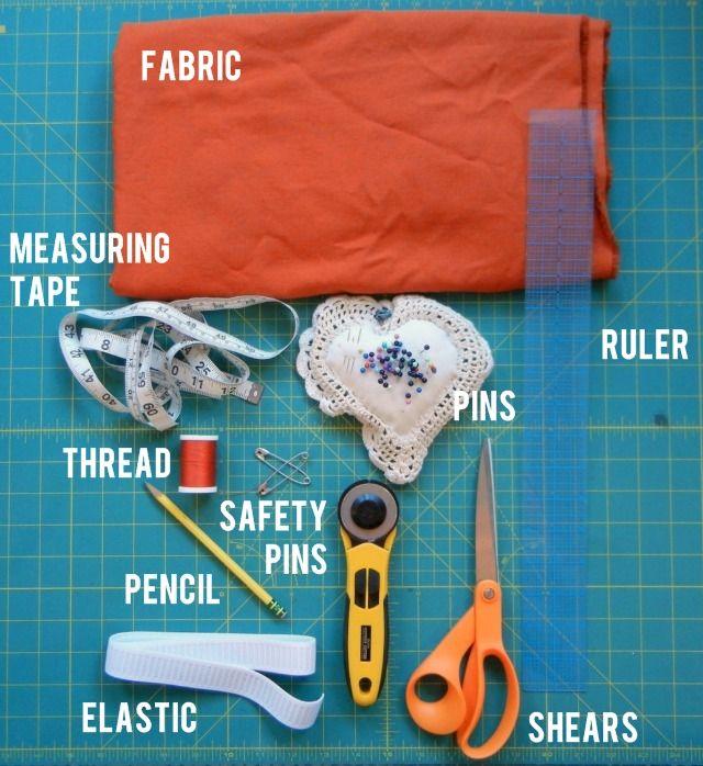 sew a super simple skirt . sewing 101 by Lindsay at Shrimp Salad Circus
