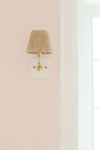 My Sweetheart by Behr: http://www.stylemepretty.com/living/2016/04/18/go-to-paint-colors-for-pretty-blushing-walls/