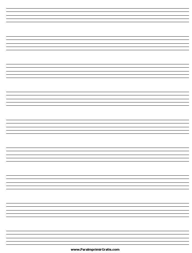 partituras en blanco para imprimir pdf - Buscar con Google