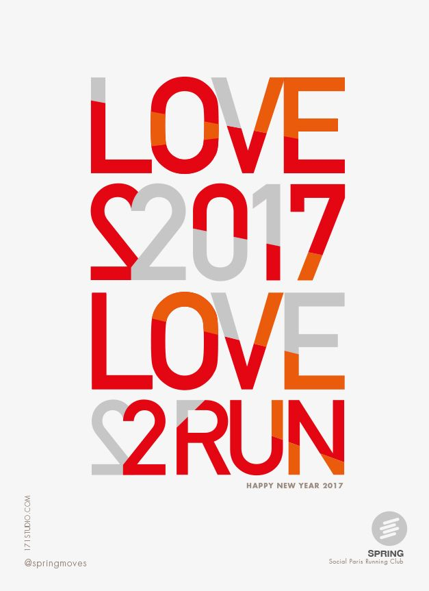 WISHES 2017 SPRING RUNNING.Poster