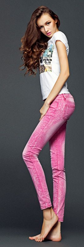 pink jeans 2013
