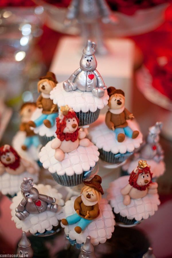 Wizard of Oz cupcakes -