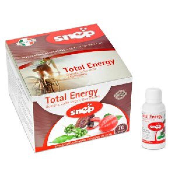 Total Energy è un integratore alimentare pensato e formulato per il benessere psico-fisico con i suoi componenti principali MACA, DAMIANA, GANODERMA e GUARANA'.